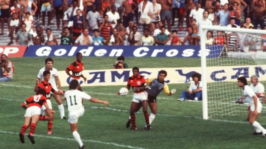 Zico primeiro gol